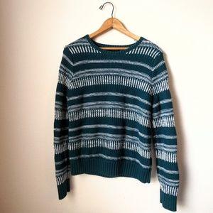 Teal Blue Banana Republic Sweater- quality!!